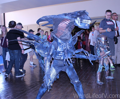 Xenomorph kids' cosplay at LBCC 2016