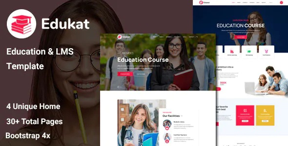 Best Education and LMS Template