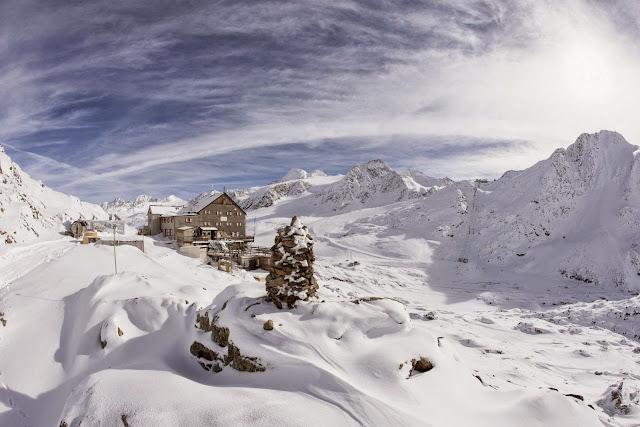 Val Senales, rifugio Bella Vista