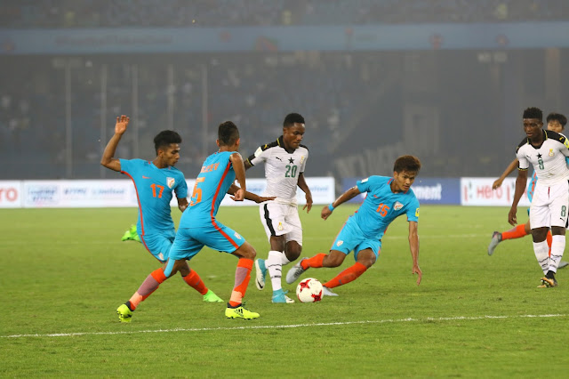 India out of FIFA U-17 World Cup 2017