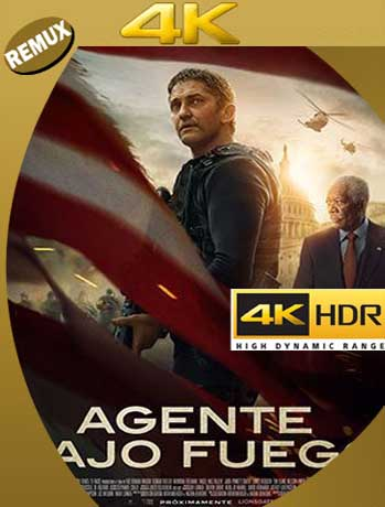 Agente Bajo Fuego (2019) 4K REMUX 2160p UHD [HDR] Latino [GoogleDrive]