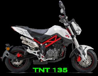 Gambar motor baru Benelli TNT 135