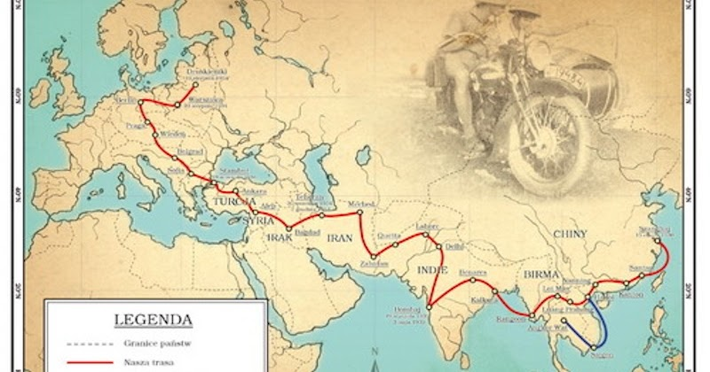 Extraordinary Honeymoon Journey by a Motorcycle That Spanned Two Continents in 1934