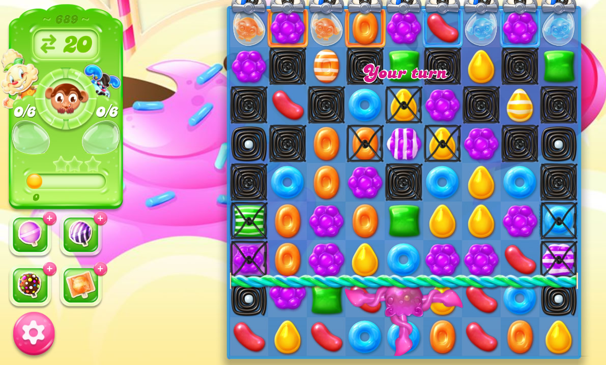 Candy Crush Jelly Saga level 689