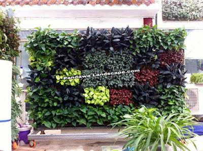 Vertical garden artificial jakarta