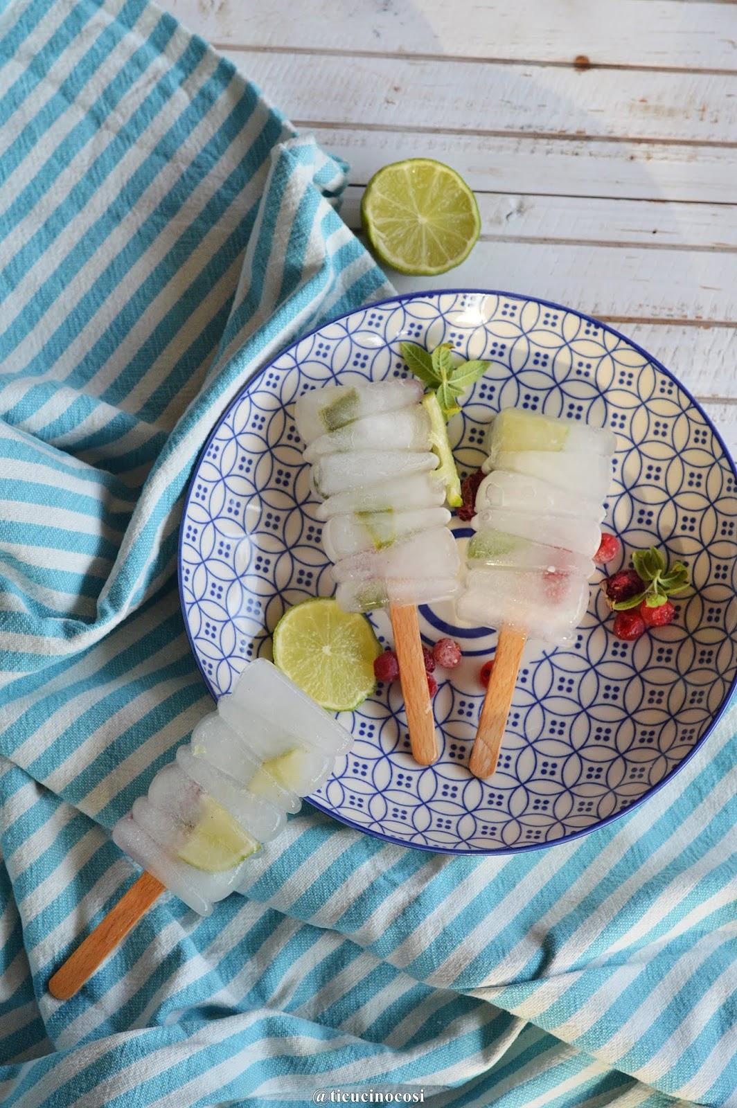 Cosa Cucinare Ad Agosto ti cucino così: ghiaccioli lime e ribes