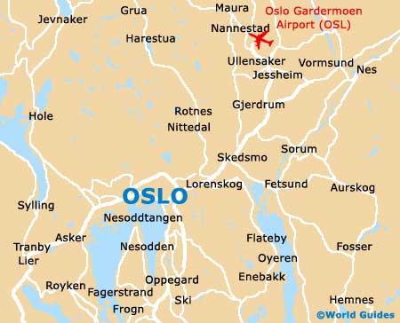 kart av oslo Kart over Norge By Regional Provinsen kart av oslo