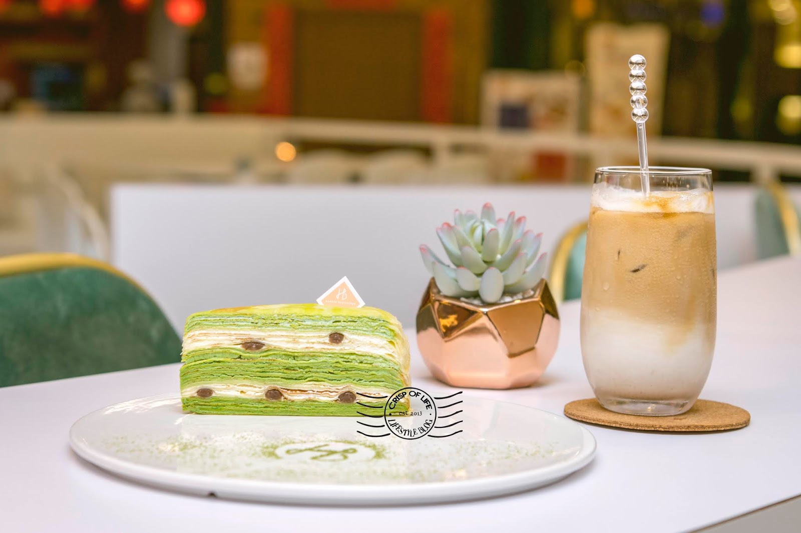 HB Dessert Humble Beginnings Mille Crepe @ Queensbay Mall, Penang