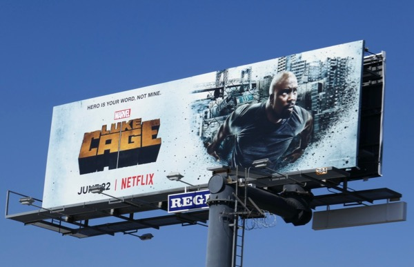Marvel Luke Cage season 2 billboard