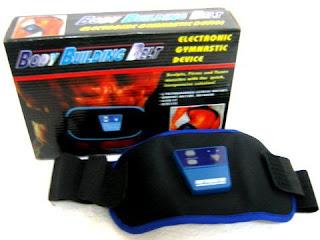 Body Building Belt Electronic Gymnastic Device Penghilang Lemak