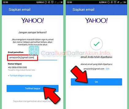 cara setting email yahoo di hp android