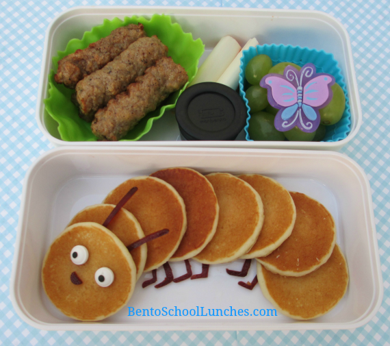 The Very Hungry Caterpillar bento, Breakfast For Lunch