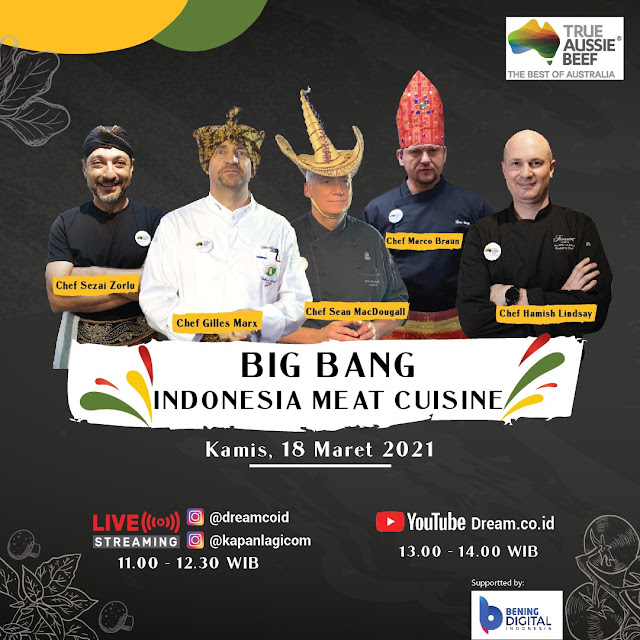 Menu Daging Sapi Australia Ala 5 Chef Internasional di Indonesia Meat Cuisine