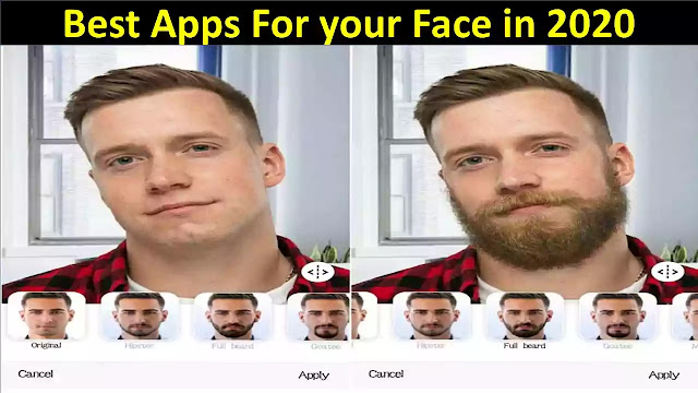 Best Four Free Face Image Editing Apps 2020