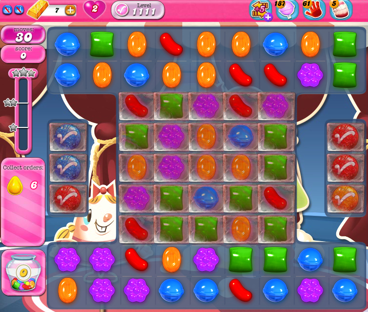 Candy Crush Saga 1111