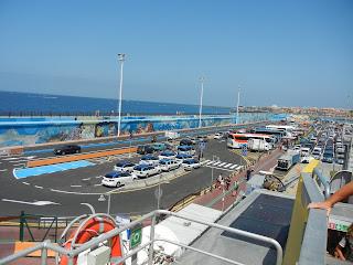 Vista del Puerto de los Cristianos