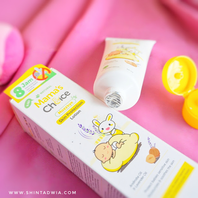 review mama's choice mozzbye skin protection lotion