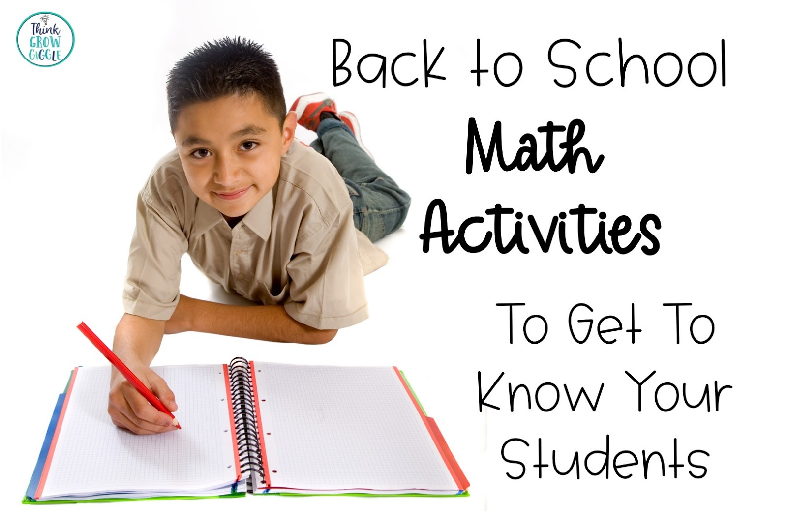back to school math ideas
