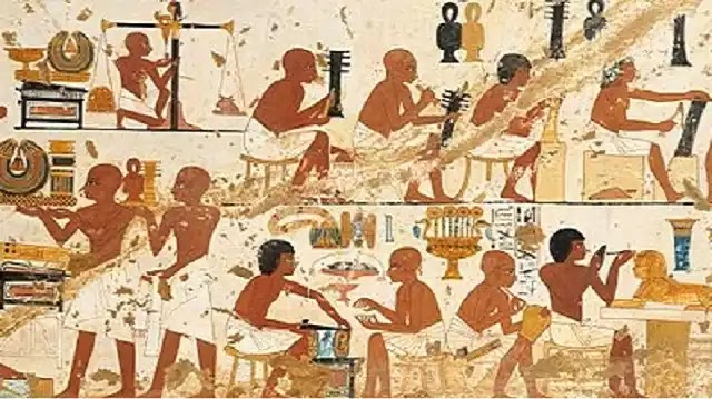 Ancient Egyptian labor
