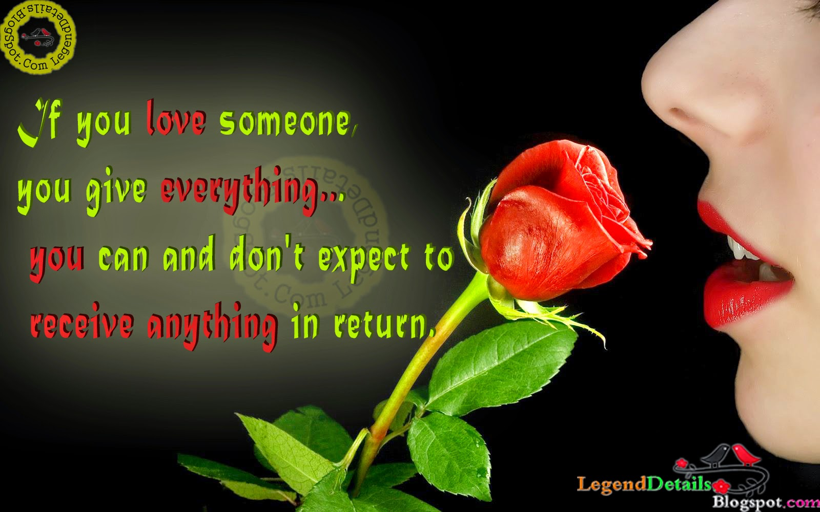 Great Love Quotes With HD Backgrounds | Legendary Quotes
