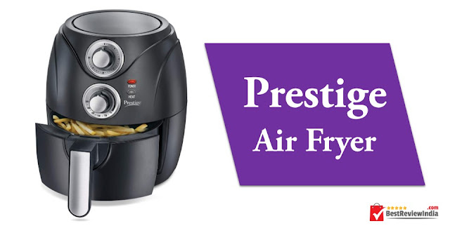Prestige Air Fryer in Black colour.