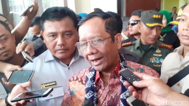 Ratas di Istana, Mahfud Bicara Prioritas Penuntasan Kasus HAM-Penegakan Hukum