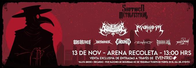 Santiago Metal Festival vuelve a las pistas con un line up brutal