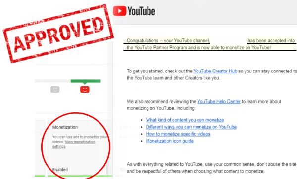 Monetisasi Youtube Lebih Mudah