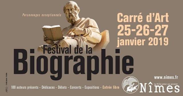Festival de la biographie dans le Gard