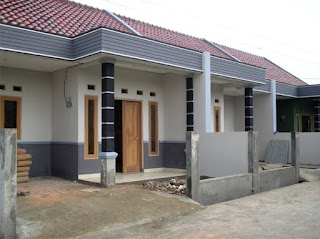 peta tiang teras rumah minimalis