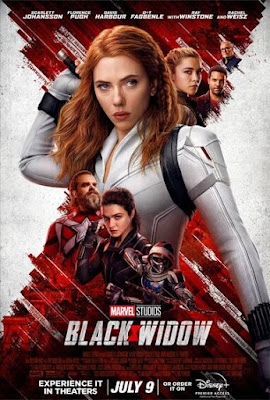 poster for Black Widow, the movie