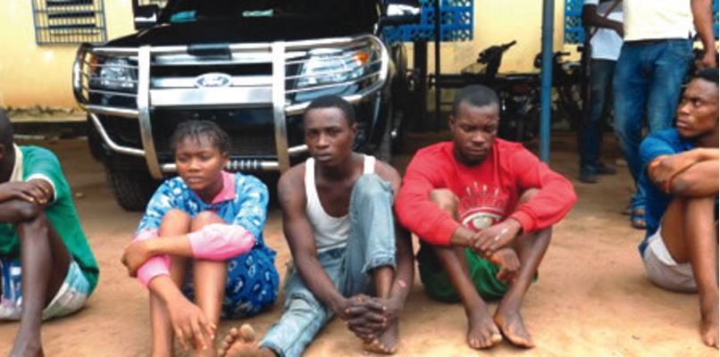 Police nab 19-year-old girl, driver in Imo state for kidnapping and robbery