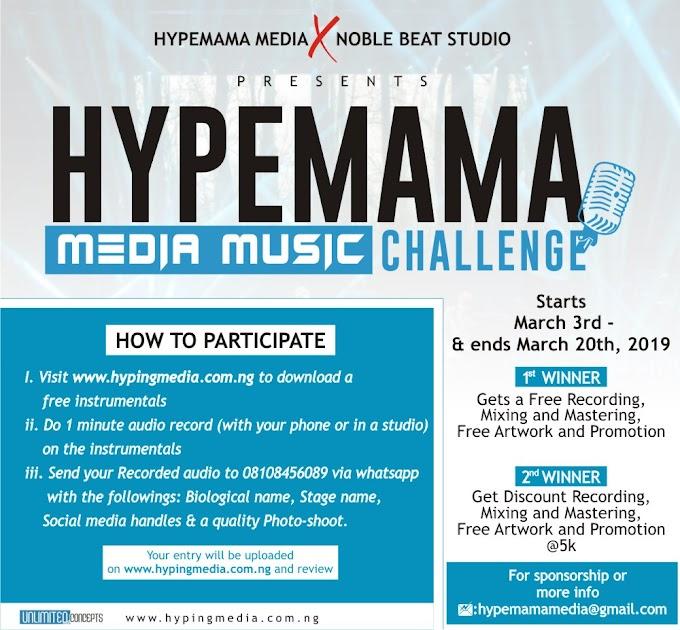 Hype mama media music challenge ( instrumentals)