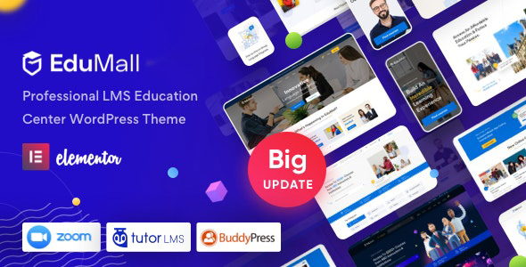 EduMall v3.0.1 Education WordPress Theme Download Free Nulled