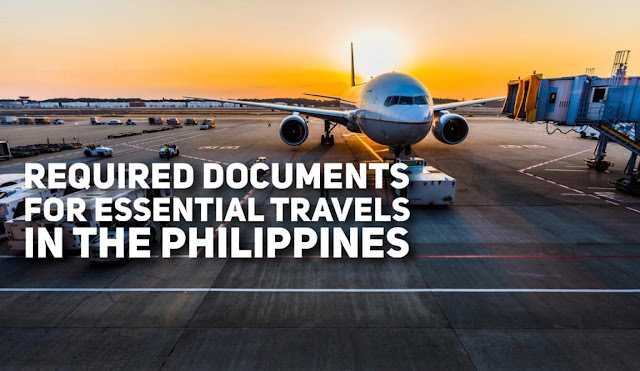 Required Travel Documents for Travels in the Philippines Cebu Pacific PAL and Air Asia
