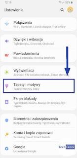 Samsung Ustawienia Tapety i motywy