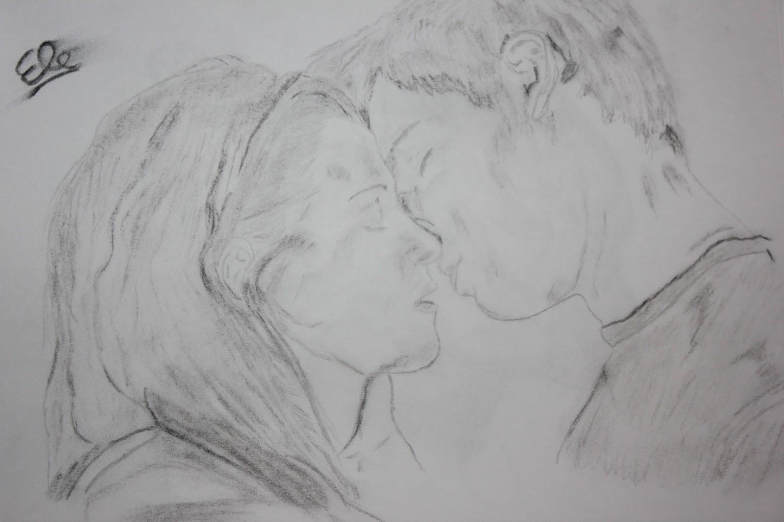 Elisa-Drawing: Dessin twilight