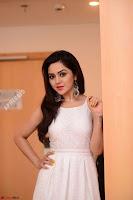 Ragini in Beautiful Cream Sleeveless Gown Perfect makeup ~  Exclusive 008.jpg