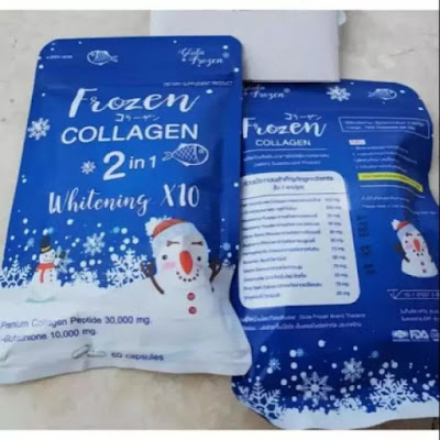 Frozen Collagen Whitening Suplemen