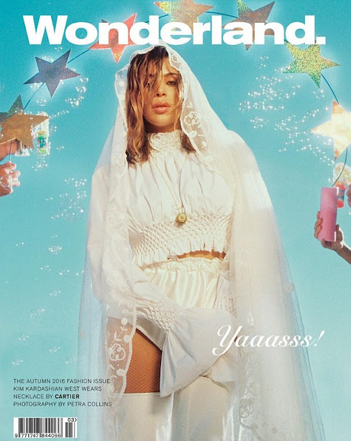 Actress, Model, @ Kim Kardashian - Wonderland Autumn 2016