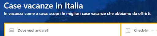 siti per prenotare case vacanze in Italia