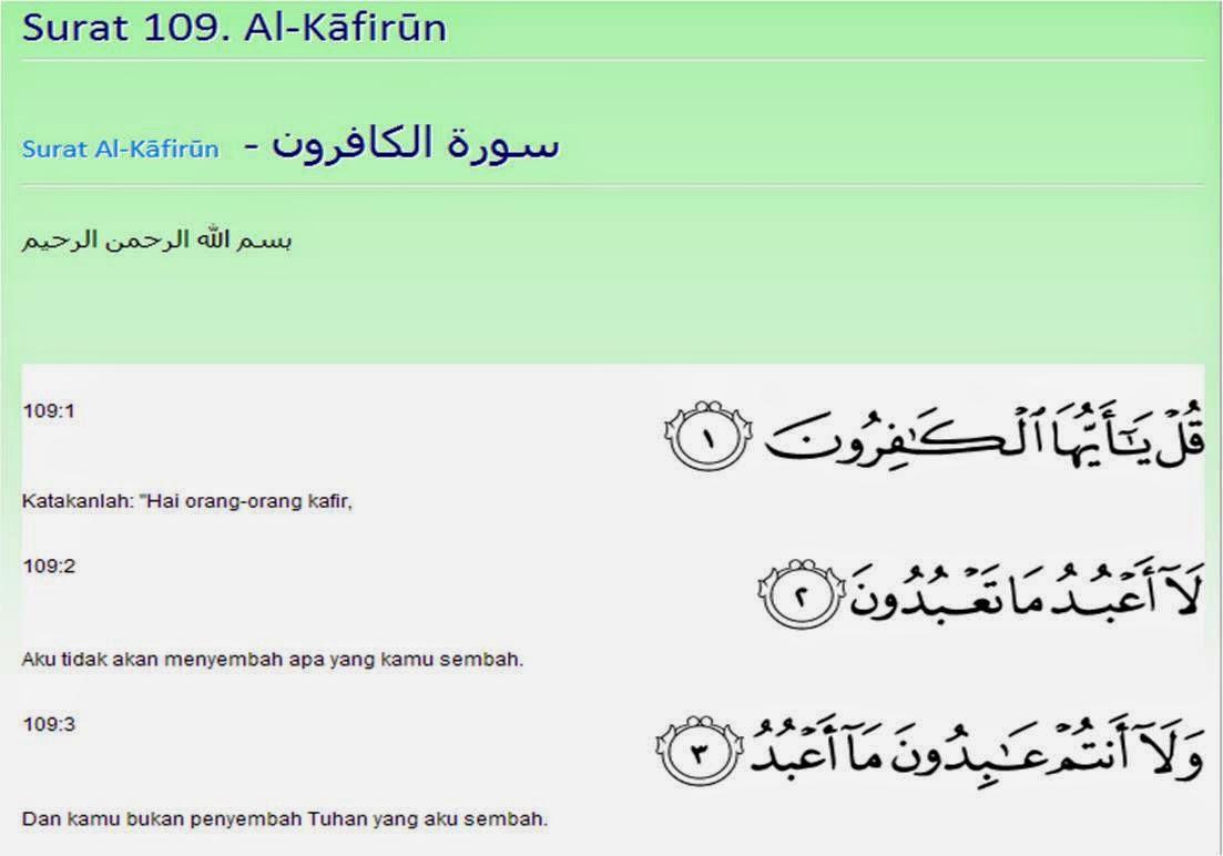 Ayat Toleransi Perbedaan Merupakan Sunatullah Catatan