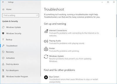 Advance troubleshooting in windows 10 : Intelligent computing