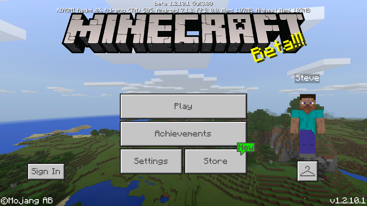 Minecraft Pocket Edition 1 2 10 Full Apk Android (Xbox Enable