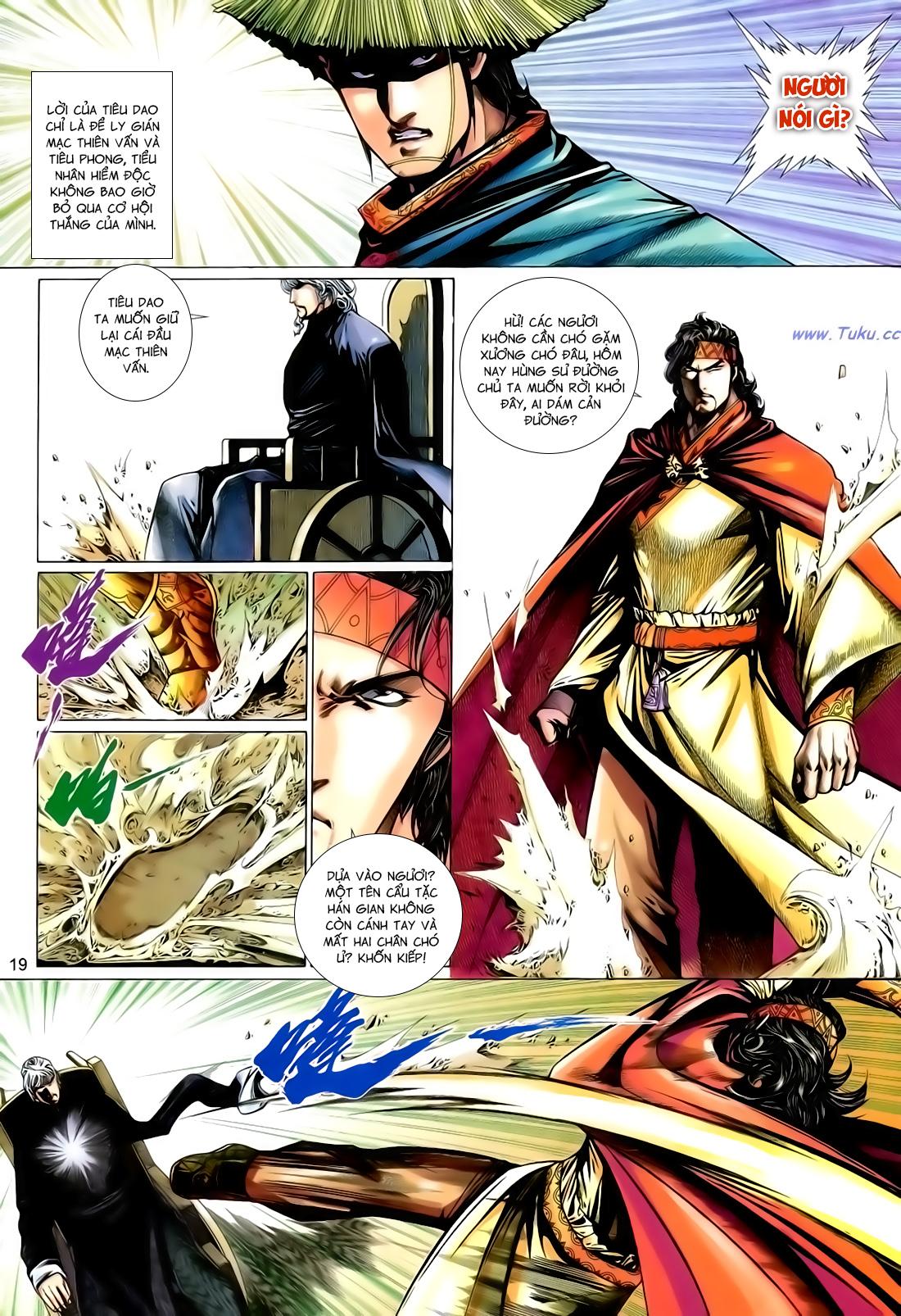 Anh Hùng Vô Lệ Chap 167 - Trang 19