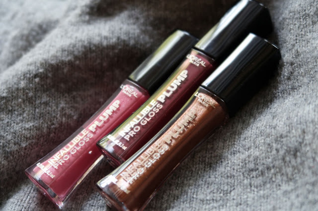 L'Oreal Infallible Pro Pump Gloss Review, Photos, Swatches