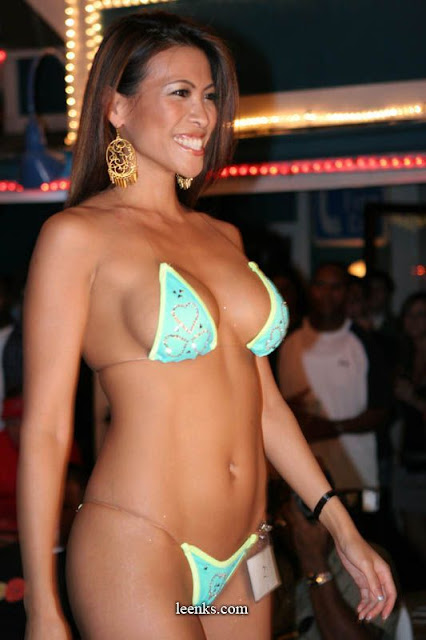 Believe, that micro bikini contest girls join