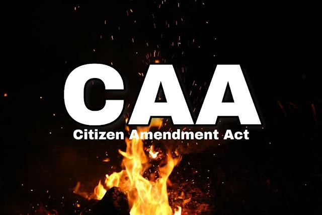 Citizen amendment act 2019