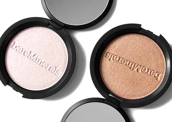 Illuminateurs Endless Glow de bareMinerals Avis Revue Swatch