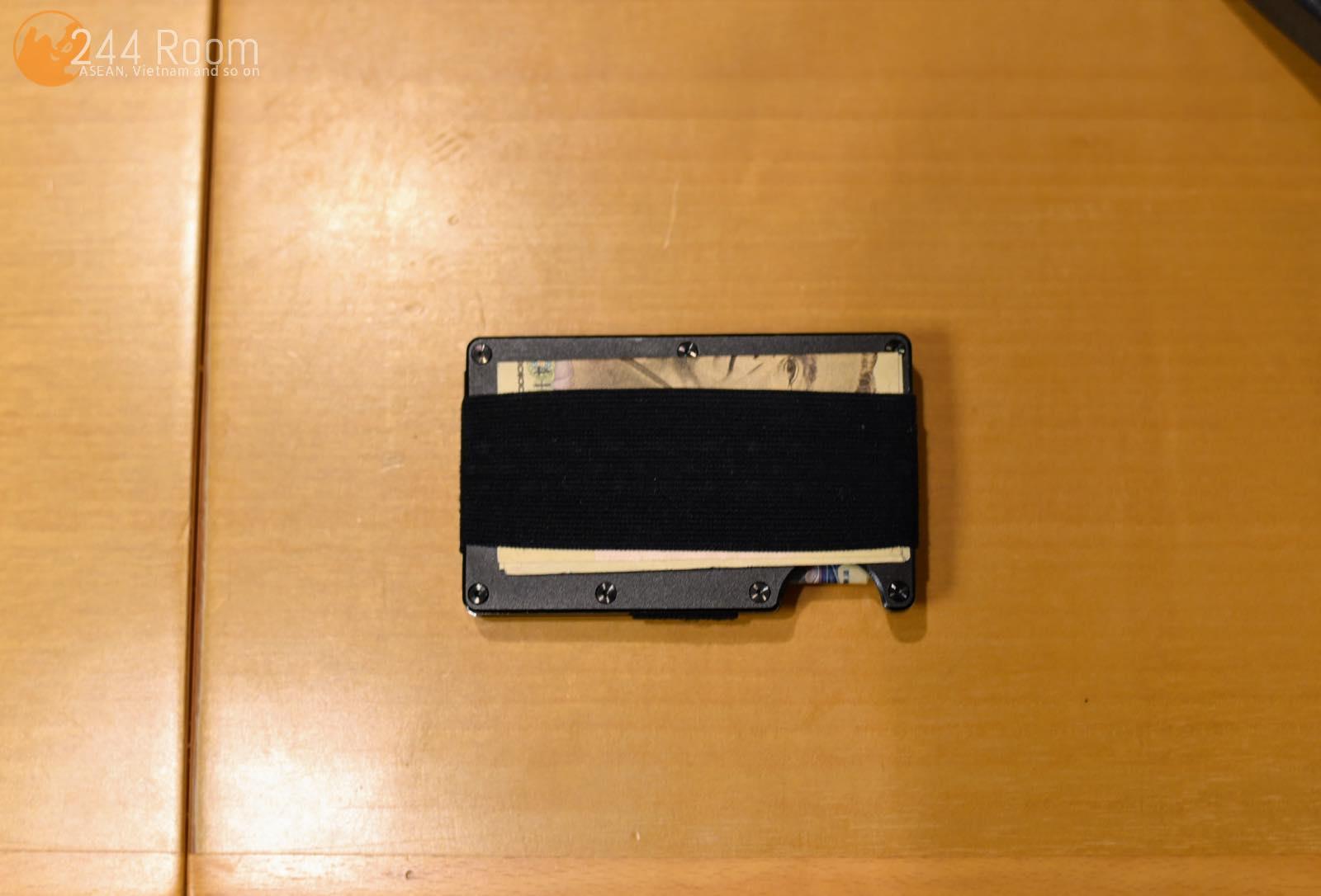 ザリッジマネーバンド theRIDGE elastic money clip